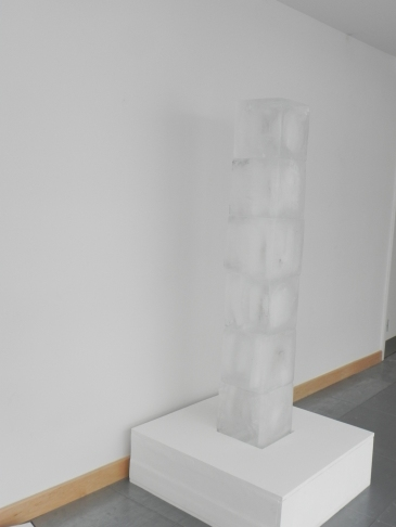Julia Mitchell: ice sculpture